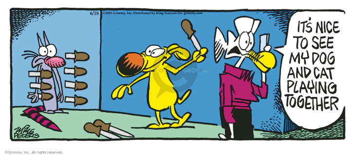 Comic Strip Mike Peters  Mother Goose and Grimm 2021-06-18 see