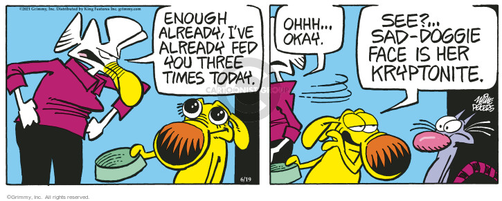 Comic Strip Mike Peters  Mother Goose and Grimm 2021-06-19 see