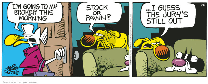 Comic Strip Mike Peters  Mother Goose and Grimm 2021-06-29 still