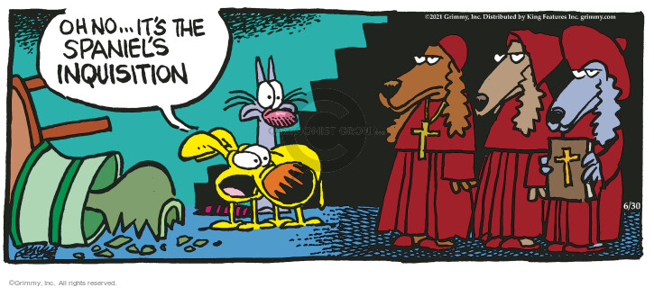 Comic Strip Mike Peters  Mother Goose and Grimm 2021-06-30 dog