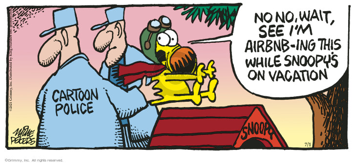 Comic Strip Mike Peters  Mother Goose and Grimm 2021-07-01 see