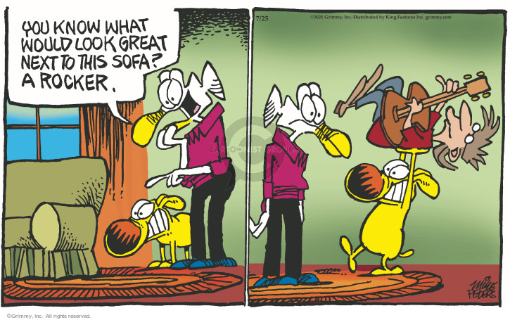 Comic Strip Mike Peters  Mother Goose and Grimm 2021-07-25 you