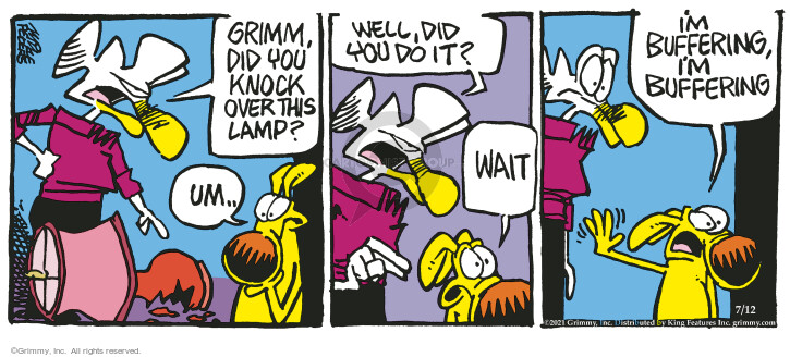 Comic Strip Mike Peters  Mother Goose and Grimm 2021-07-12 you