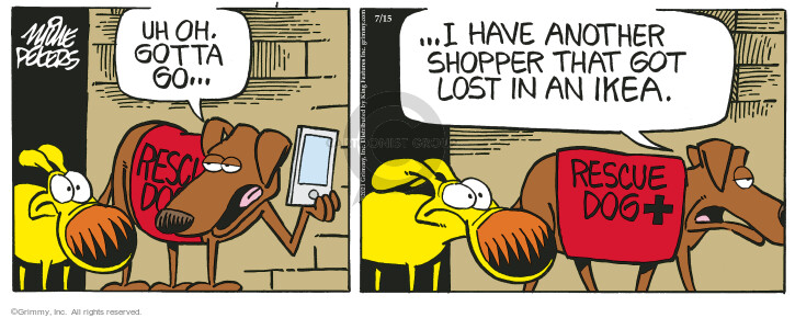Comic Strip Mike Peters  Mother Goose and Grimm 2021-07-15 get