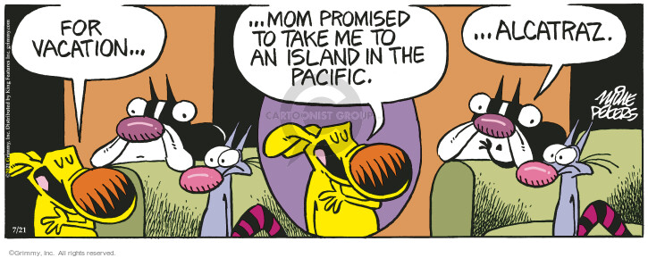 Comic Strip Mike Peters  Mother Goose and Grimm 2021-07-21 mom