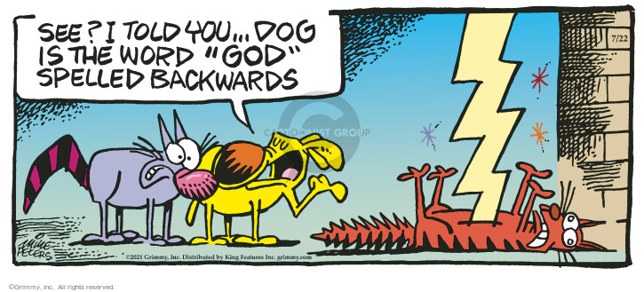 Comic Strip Mike Peters  Mother Goose and Grimm 2021-07-22 see