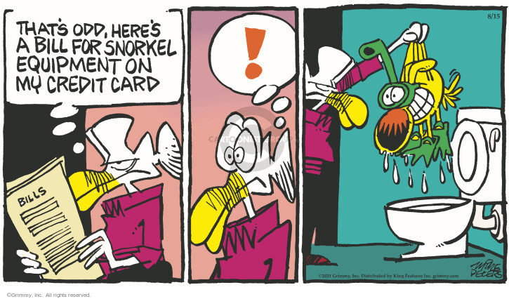 Comic Strip Mike Peters  Mother Goose and Grimm 2021-08-15 bowl