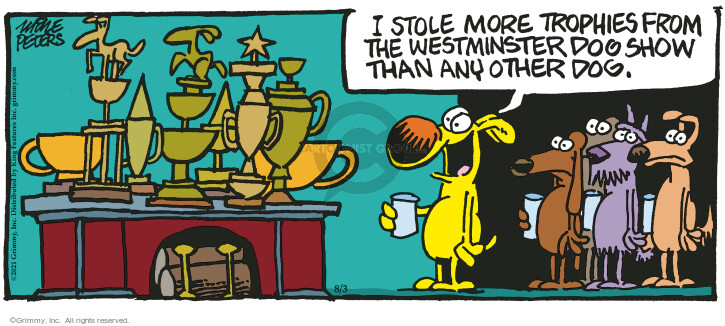 Comic Strip Mike Peters  Mother Goose and Grimm 2021-08-03 strip