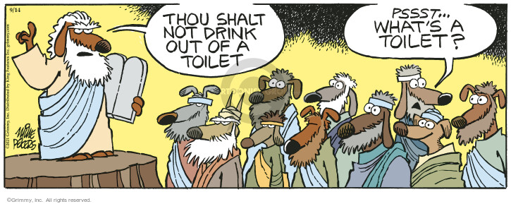 Comic Strip Mike Peters  Mother Goose and Grimm 2021-09-14 drink
