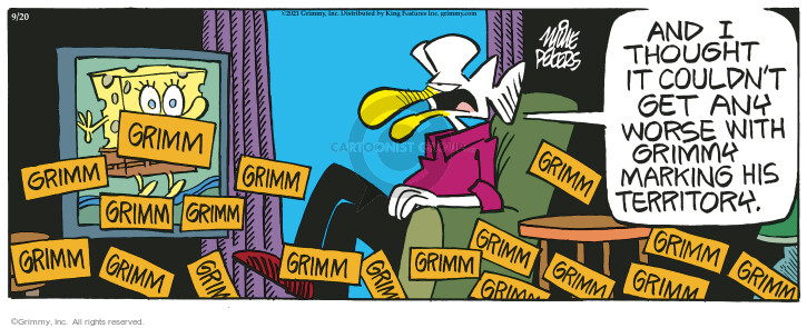 Comic Strip Mike Peters  Mother Goose and Grimm 2021-09-20 get