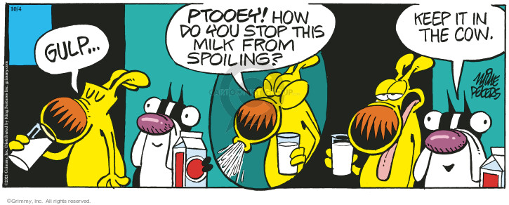 Comic Strip Mike Peters  Mother Goose and Grimm 2021-10-04 Grimm