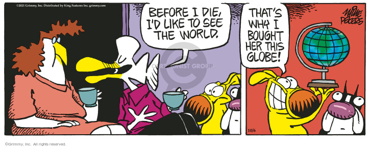 Comic Strip Mike Peters  Mother Goose and Grimm 2021-10-06 mother