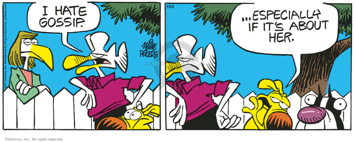 Comic Strip Mike Peters  Mother Goose and Grimm 2021-10-08 mother