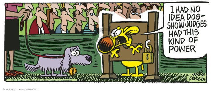 Comic Strip Mike Peters  Mother Goose and Grimm 2021-10-09 mother