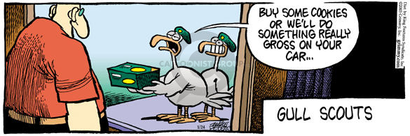 Comic Strip Mike Peters  Mother Goose and Grimm 2003-01-24 dirty