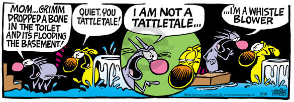 Comic Strip Mike Peters  Mother Goose and Grimm 2003-02-18 inform