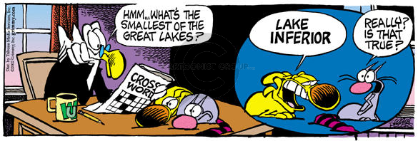 Comic Strip Mike Peters  Mother Goose and Grimm 2002-05-04 gullible