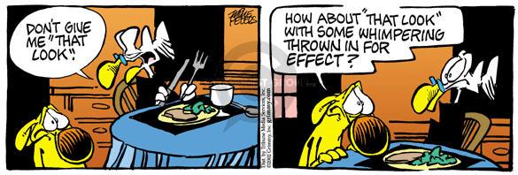 Cartoonist Mike Peters  Mother Goose and Grimm 2002-06-01 seek