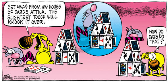Comic Strip Mike Peters  Mother Goose and Grimm 2002-06-02 house