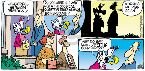 Cartoonist Mike Peters  Mother Goose and Grimm 2002-07-14 concern