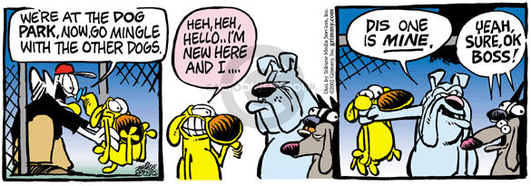 Comic Strip Mike Peters  Mother Goose and Grimm 2002-07-24 dog tag