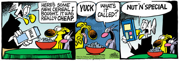 Comic Strip Mike Peters  Mother Goose and Grimm 2002-08-09 marketing