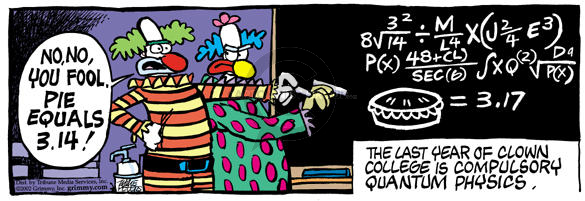Comic Strip Mike Peters  Mother Goose and Grimm 2002-08-16 educator