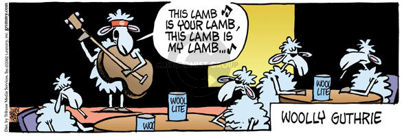 Comic Strip Mike Peters  Mother Goose and Grimm 2002-09-04 land