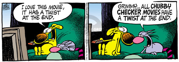 Comic Strip Mike Peters  Mother Goose and Grimm 2002-09-05 twist