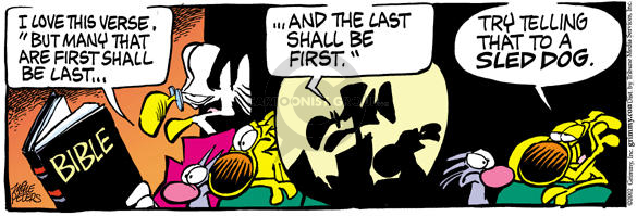 Comic Strip Mike Peters  Mother Goose and Grimm 2002-09-13 lead
