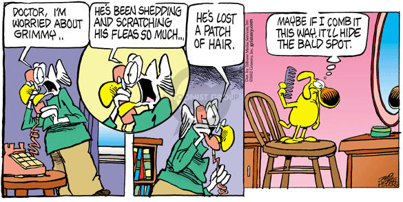 Comic Strip Mike Peters  Mother Goose and Grimm 2002-09-15 vanity