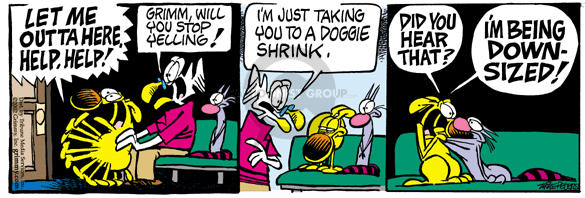 Comic Strip Mike Peters  Mother Goose and Grimm 2002-10-02 apprehension