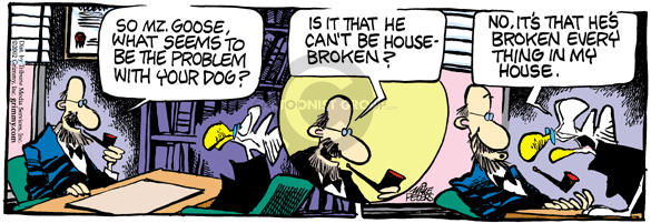 Comic Strip Mike Peters  Mother Goose and Grimm 2002-10-03 house