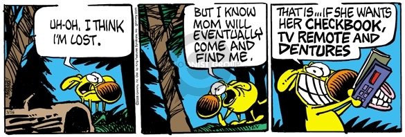 Comic Strip Mike Peters  Mother Goose and Grimm 2006-03-16 lost dog