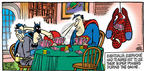 Cartoonist Mike Peters  Mother Goose and Grimm 2003-04-27 x-ray vision
