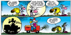 Cartoonist Mike Peters  Mother Goose and Grimm 2003-07-06 gardening equipment