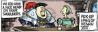 Cartoonist Mike Peters  Mother Goose and Grimm 2006-05-10 suggestion