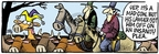 Comic Strip Mike Peters  Mother Goose and Grimm 2007-01-12 cowboy hat