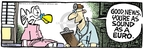 Cartoonist Mike Peters  Mother Goose and Grimm 2007-11-08 medical