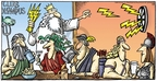 Cartoonist Mike Peters  Mother Goose and Grimm 2009-03-08 Greek god