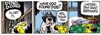 Cartoonist Mike Peters  Mother Goose and Grimm 2009-03-30 saint