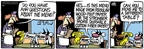 Cartoonist Mike Peters  Mother Goose and Grimm 2009-06-06 question