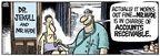 Cartoonist Mike Peters  Mother Goose and Grimm 2009-08-13 medical