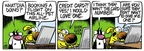 Comic Strip Mike Peters  Mother Goose and Grimm 2009-09-07 vacation