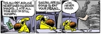 Comic Strip Mike Peters  Mother Goose and Grimm 2009-09-12 vacation