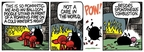 Comic Strip Mike Peters  Mother Goose and Grimm 2009-12-09 heat