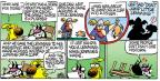 Cartoonist Mike Peters  Mother Goose and Grimm 2010-11-07 idiom