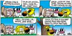Cartoonist Mike Peters  Mother Goose and Grimm 2012-06-24 muscle