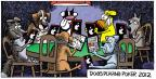 Cartoonist Mike Peters  Mother Goose and Grimm 2012-07-29 player