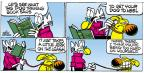 Cartoonist Mike Peters  Mother Goose and Grimm 2012-10-07 leash